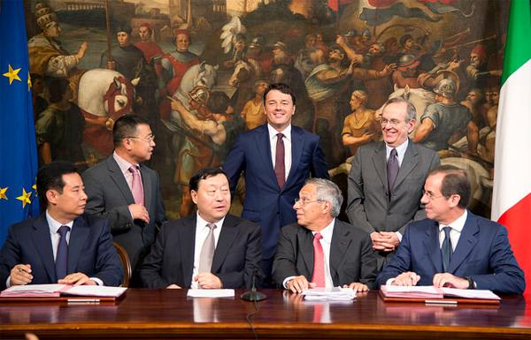Italia-Cina, firmato l'accordo tra Cassa depositi e prestiti e China State Grid