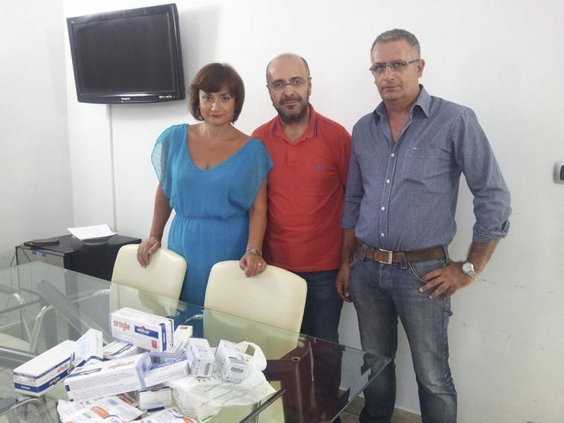 CATANIA. CGIL per Gaza: straordinario successo della raccolta farmaci