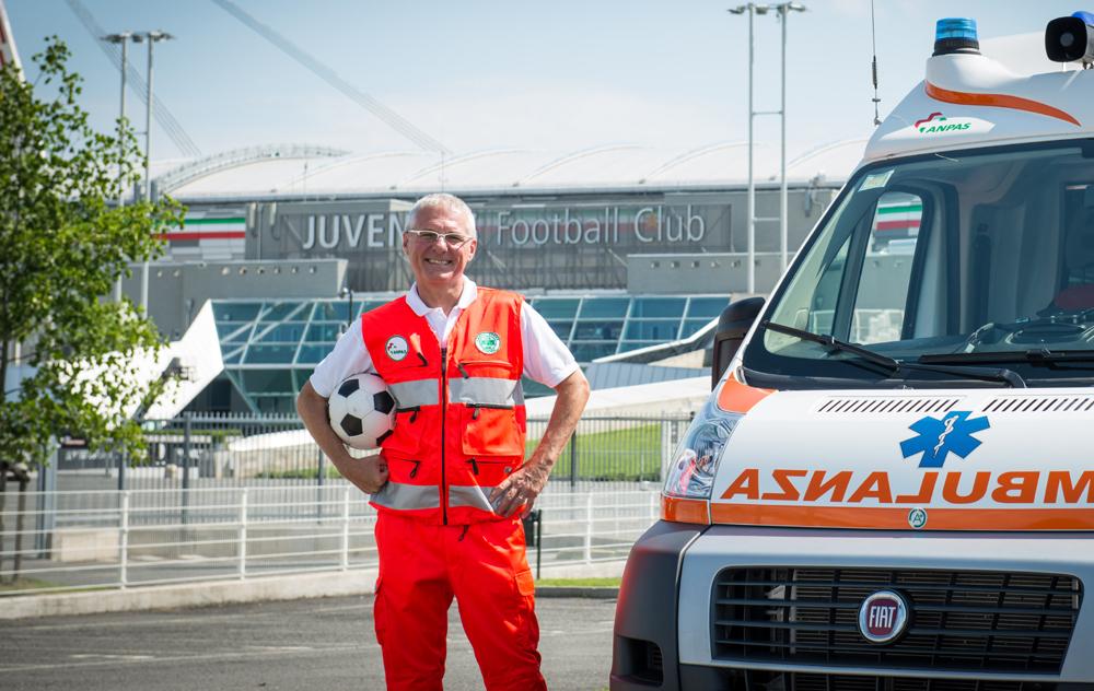 Anpas: assistenza sanitaria Juventus Stadium