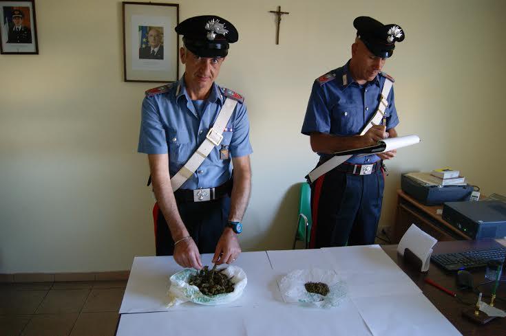 Santa Croce Camerina. Raffica di perquisizioni antidroga, recuperata sostanza stupefacente