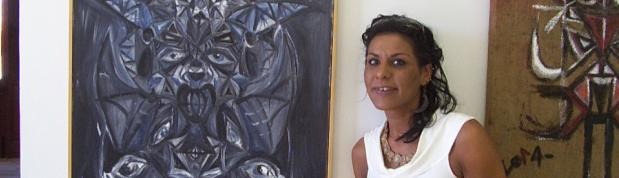 L'arte come divertimento nella personale di pittura di Flavia Albani