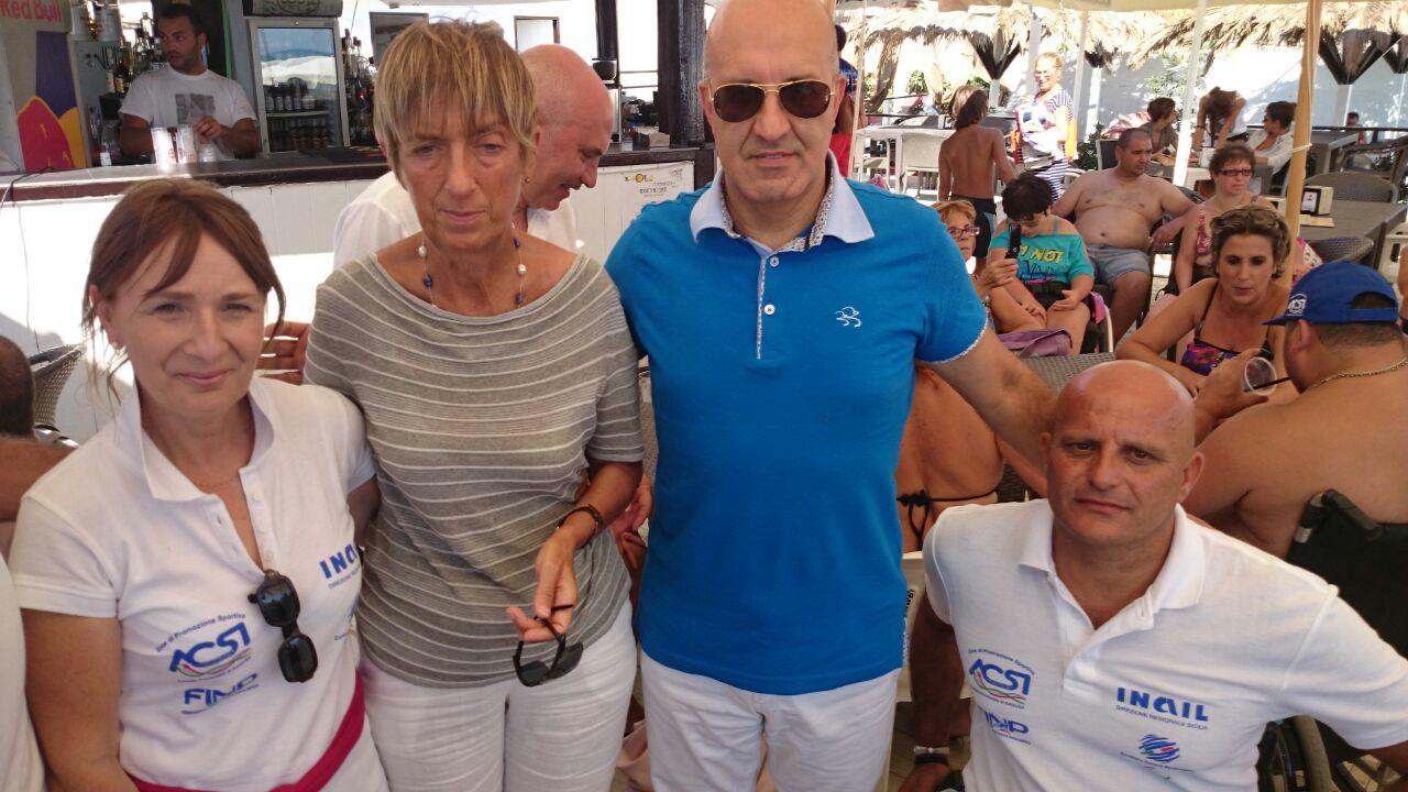"""Memorial """"Danilo Orlando"""" a Marina di Ragusa, splendida manifestazione tra nuoto e vela dedicata ai disabili"""
