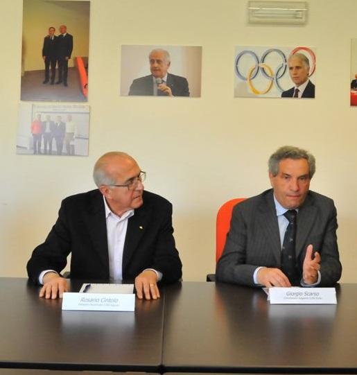 Alla Scuola regionale dello Sport un seminario per maestri di scherma dei Paesi del Mediterraneo