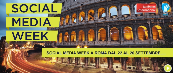A Roma la Social Media Week