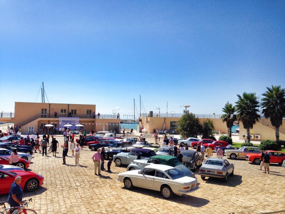 Marina di Ragusa, successo per l'evento Auto in Porto