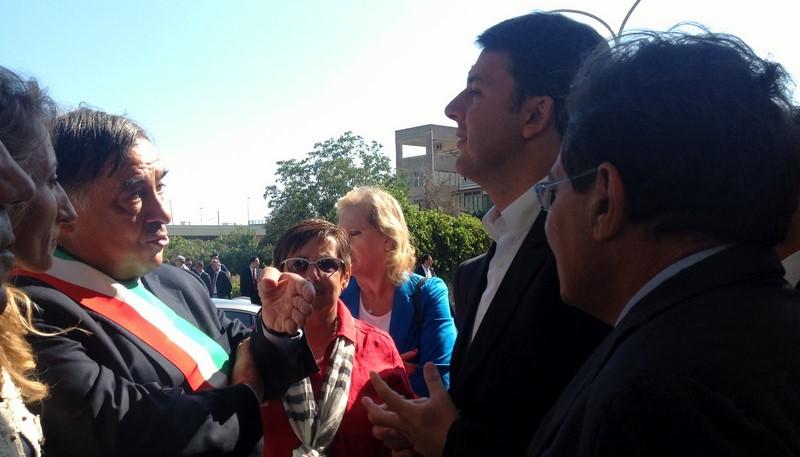 Palermo, inaugirazione dell'anno scolastico con Matteo Renzi