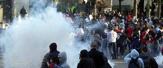 Incidenti allo stadio tra tifosi del Manduria: 6 daspo