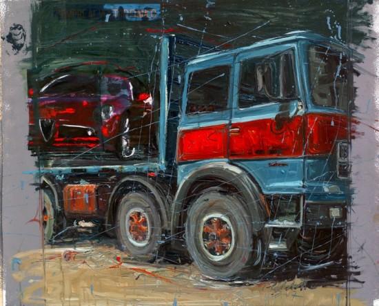 LUIGI RABBITO: retrospettiva di pittura. Chiaramonte Gulfi 2/7 settembre 2014