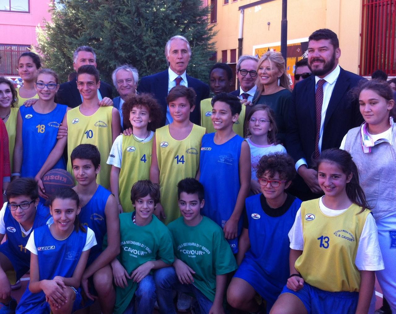 Scuola è sport, sport è scuola. Il presidente nazionale del Coni a Catania