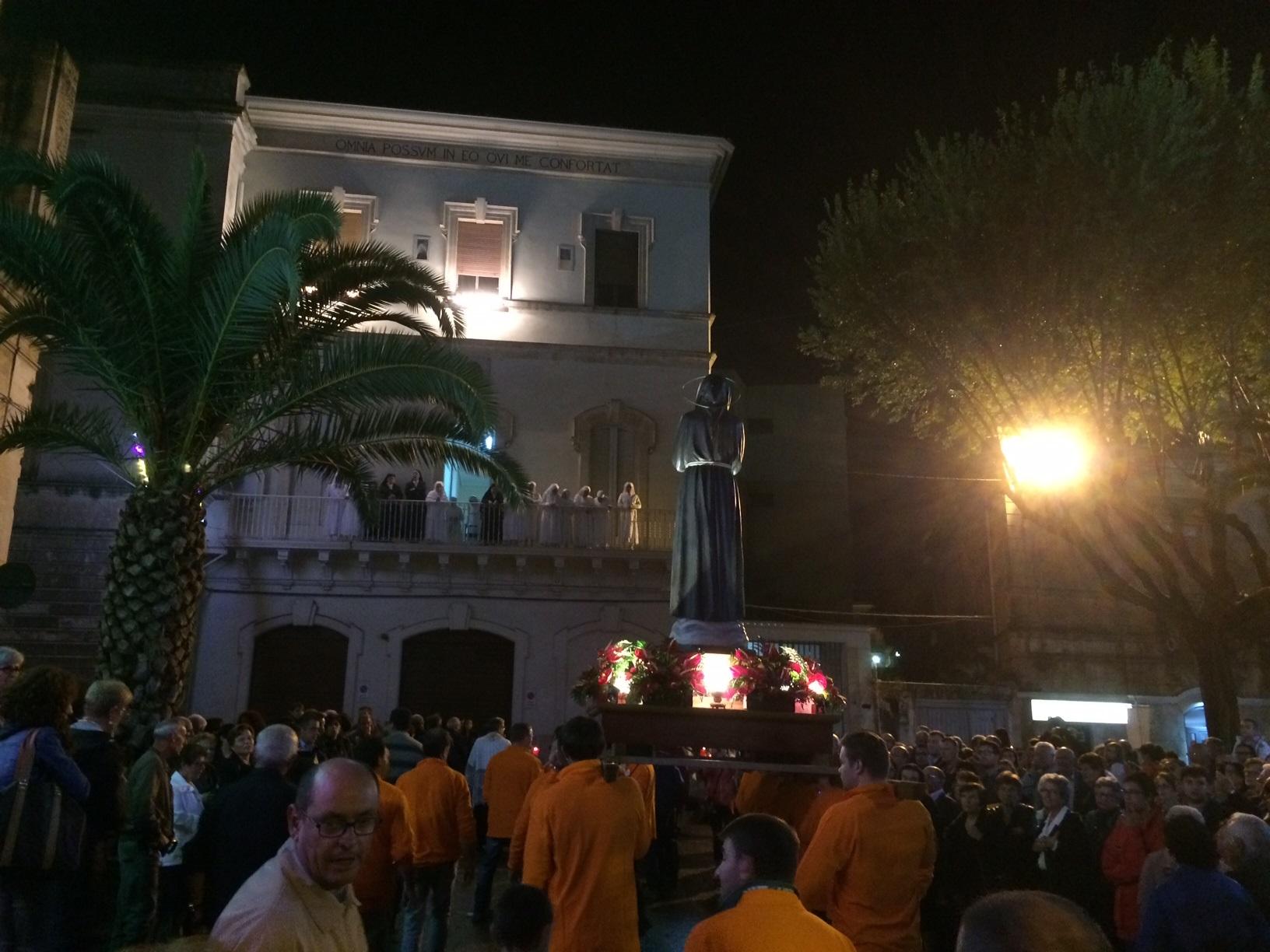 Ragusa, concluse ieri le celebrazioni in onore di San Francesco
