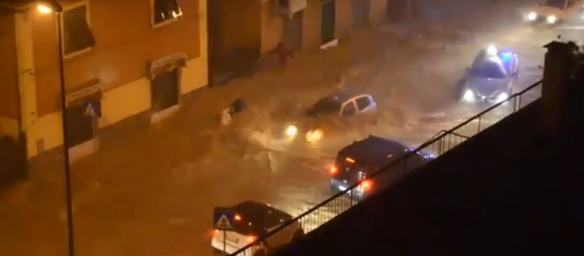 Genova. Alluvione, strade: 7 milioni di danni sulle provinciali