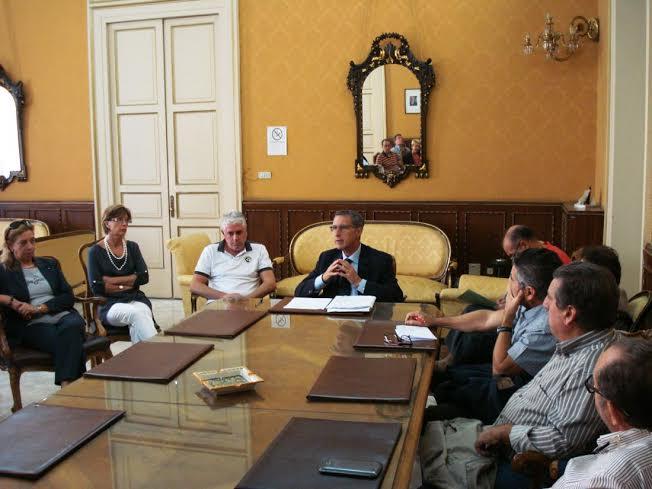 Caltanissetta. Il commissario Sirico incontra RSU e  rappresentanza sindacale