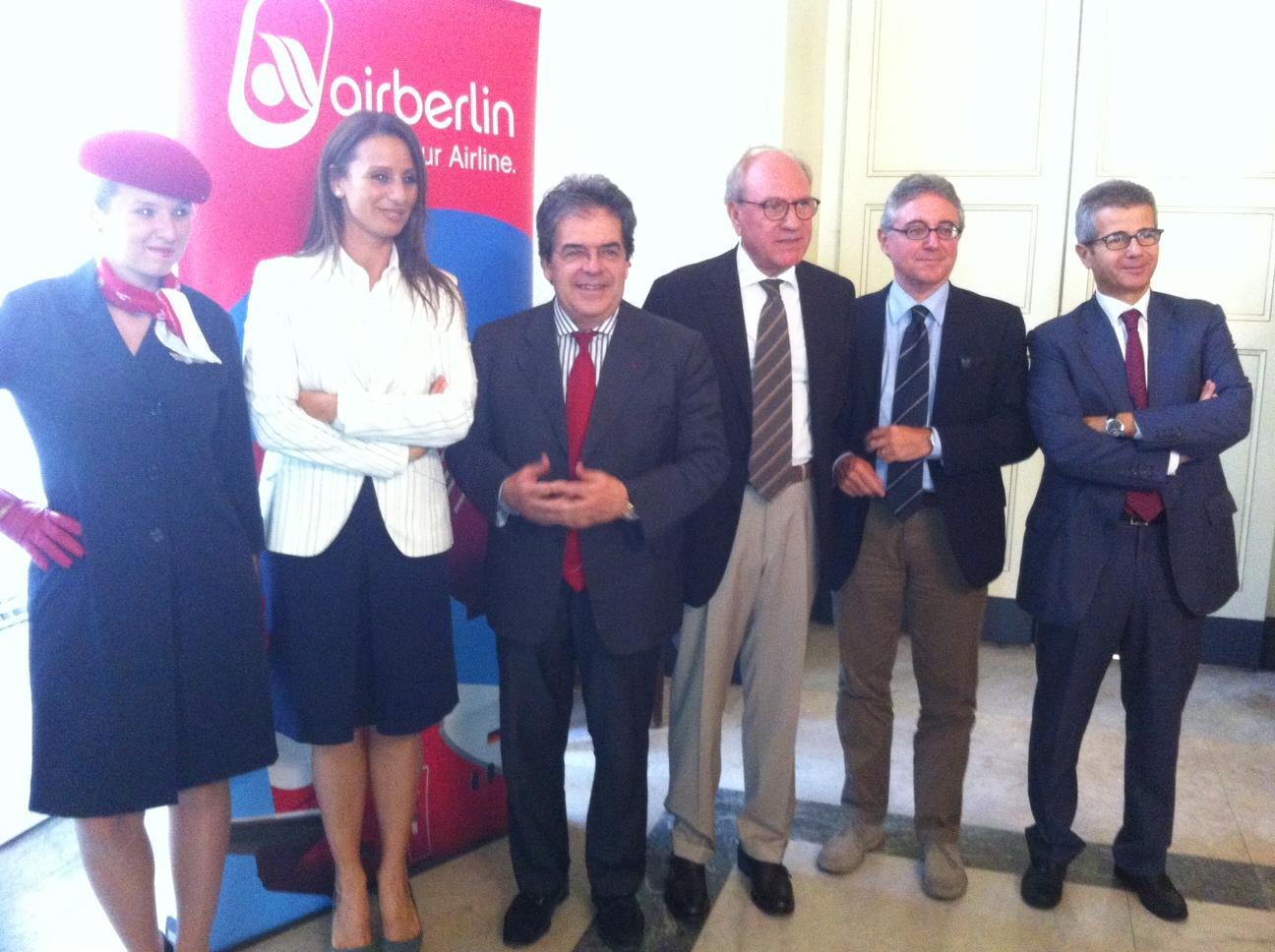 Annunciate da Airberlin nuove rotte da e per Catania verso Vienna