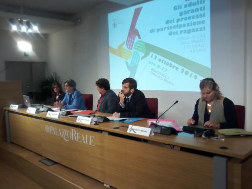 Milano. Convegno a Palazzo Reale: Adulti garanti dei processi di partecipazione dei ragazzi