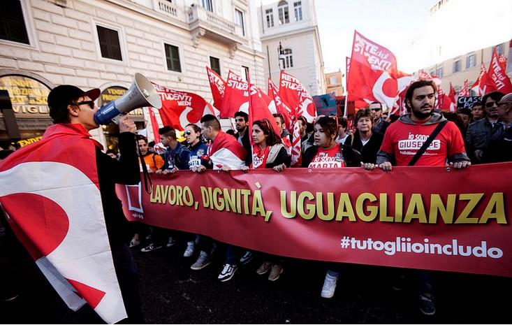 Jobs Act: Sciopero lavoratori Italia Lavoro, politiche attive a rischio