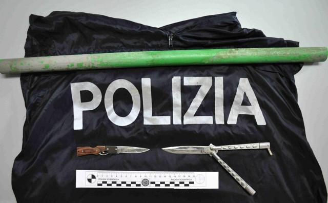 Vittoria, Polizia arresta un evaso. Trovate armi a romeno, denunciato