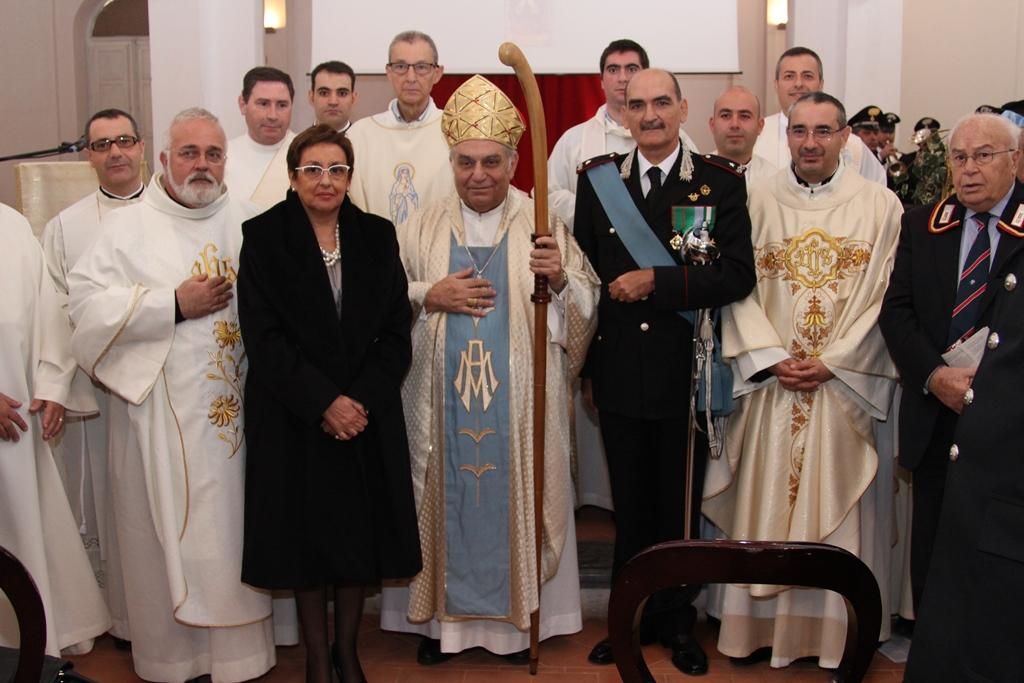 """Celebrazione Virgo Fidelis patrona dell'arma dei CC, 73° anniversario battaglia di Culqualber e """"giornata dell'orfano"""""""