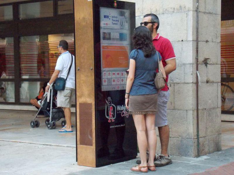 Acate. Innovativo pannello turistico in Piazza Matteotti