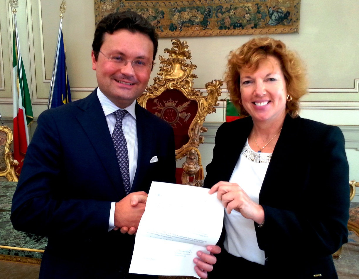 Riconoscimenti: Marco Consoli selezionato per l'International visitor leadership program
