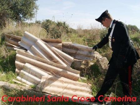 Sequestrata discarica di 15.000 mq a Santa Croce e tre denunciati