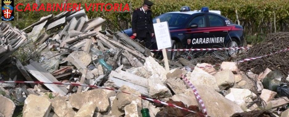 Acate. Discarica abusiva di oltre 8.000 mq sequestrata in contrada Dirillo-Macconi: 6 persone denunciate