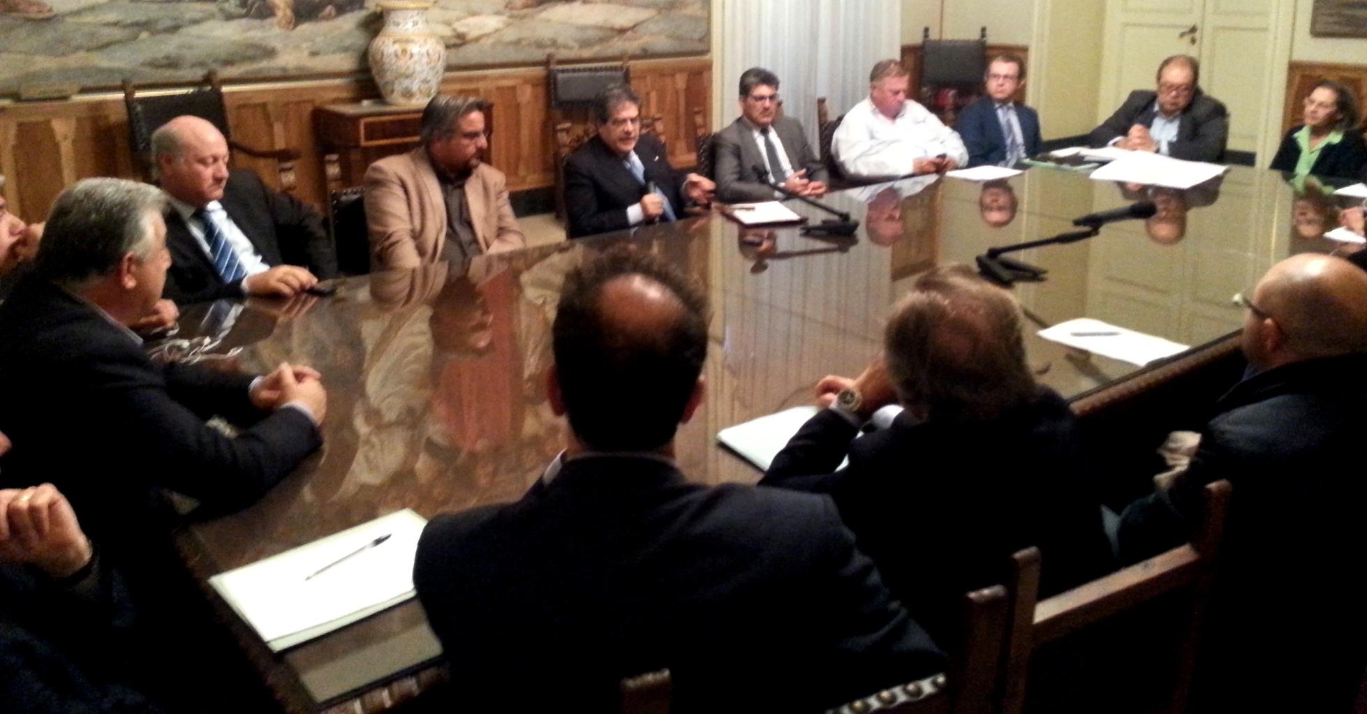 Catania, Bianco presiede riunione sindaci su difesa idrogeologica del territorio