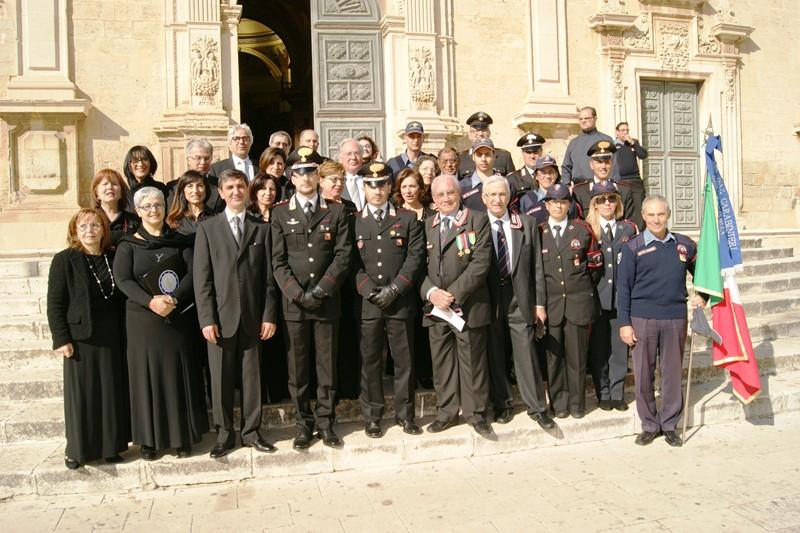 Vittoria. Celebrazione della Virgo Fidelis, patrona dell'arma dei carabinieri