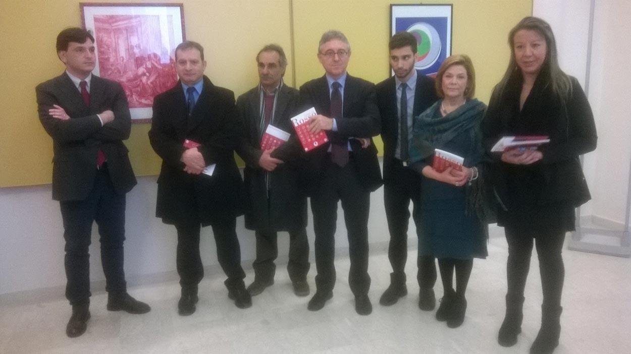 """Catania. Inaugurata nel museo comunale Emilio Greco la mostra """"Spazi in Rosso"""""""