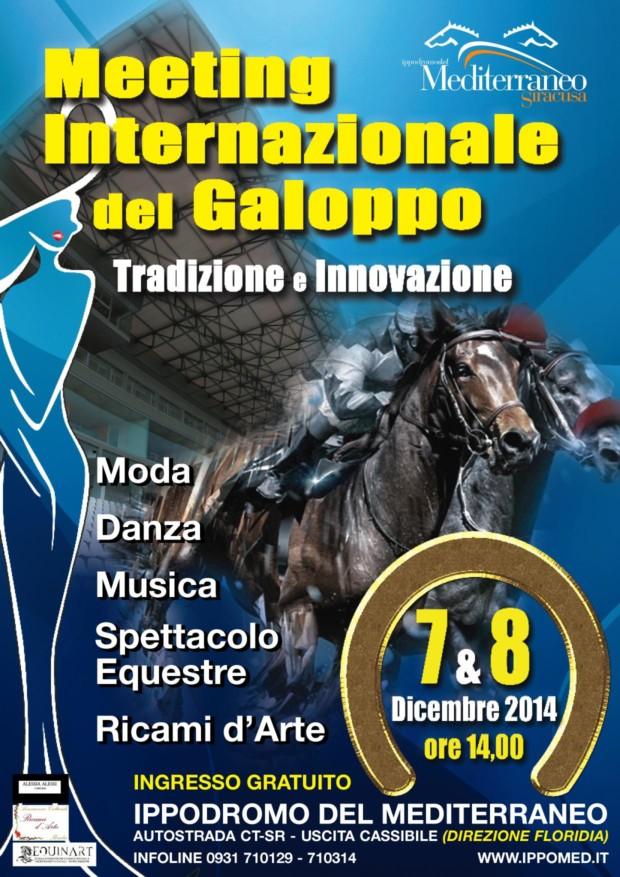 MANIFESTO IPPODROMO 7 e 8 dicembre