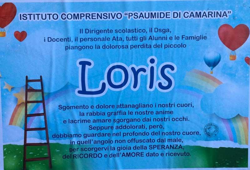 Caso Loris, il cordoglio dell'Istituto Comprensivo Psaumide di Camarina