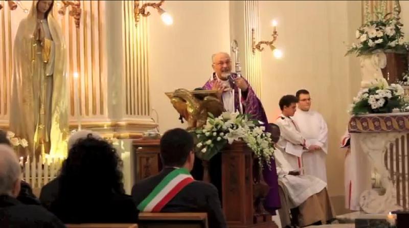 Caso Loris, la preghiera del Vescovo di Ragusa Mons. Paolo Urso