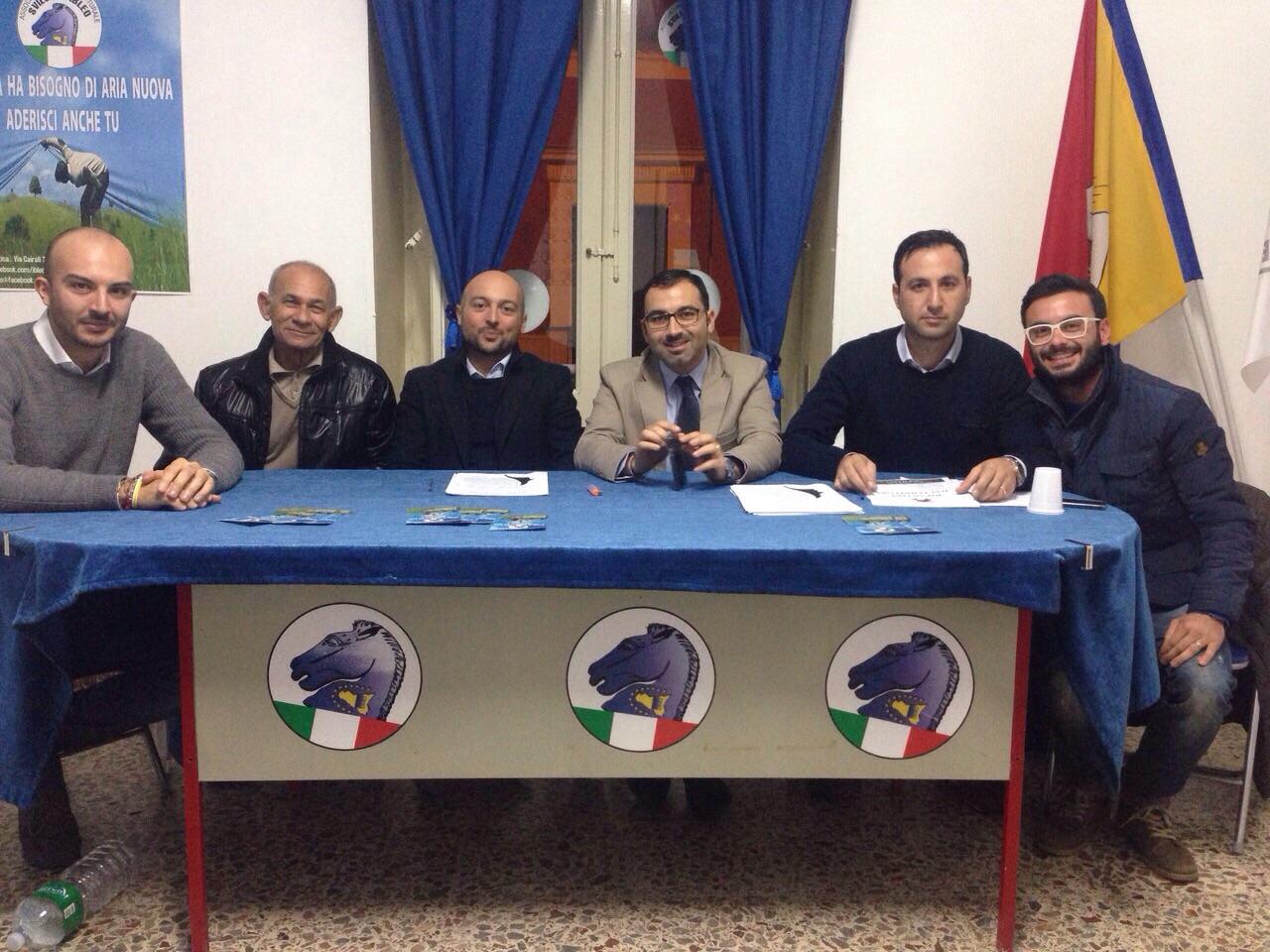 Vittoria. Riunione per definire le nuove direttive del movimento politico Sviluppo Ibleo