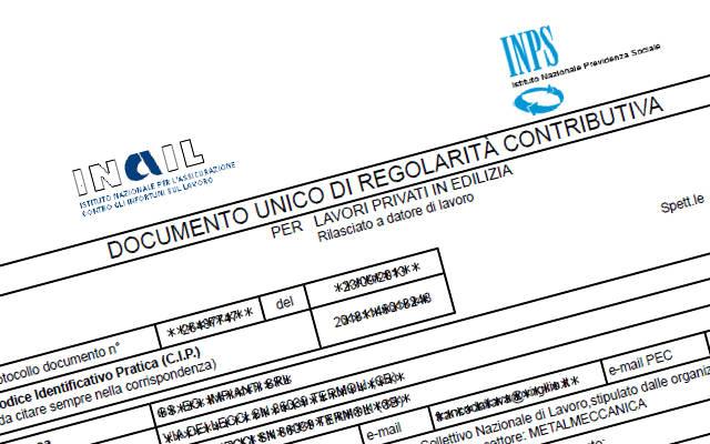 """Durc on line, ANCL: """"positiva la collaborazione con l'Inail"""""""