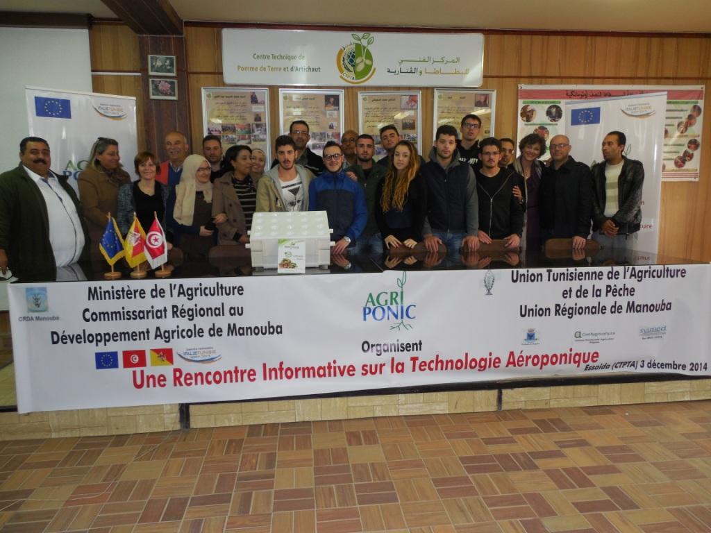 Seminario di approfondimento in Tunisia sulle colture fuori suolo