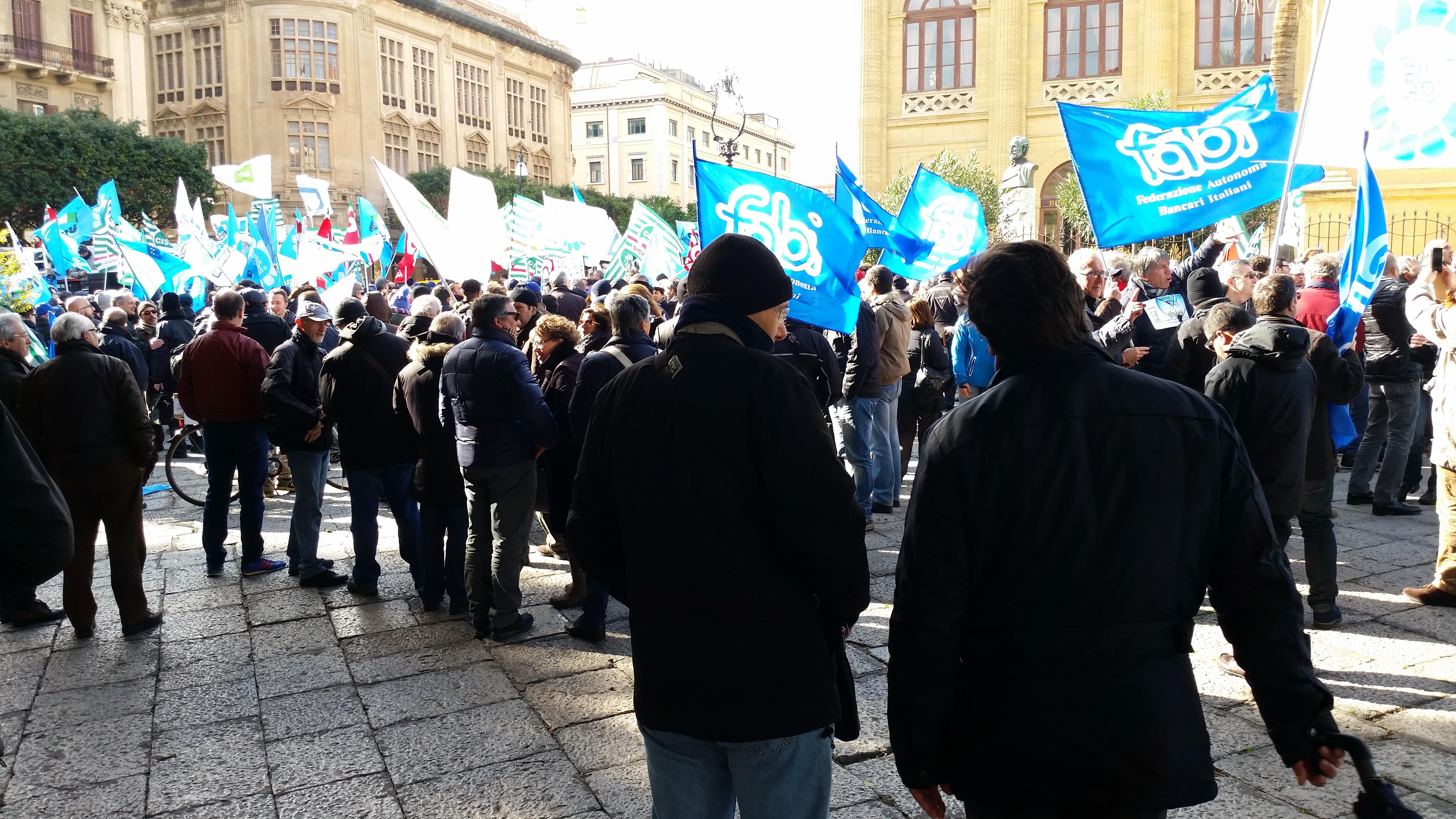 Sciopero dei bancari in Italia: ha aderito il 90% dei lavoratori