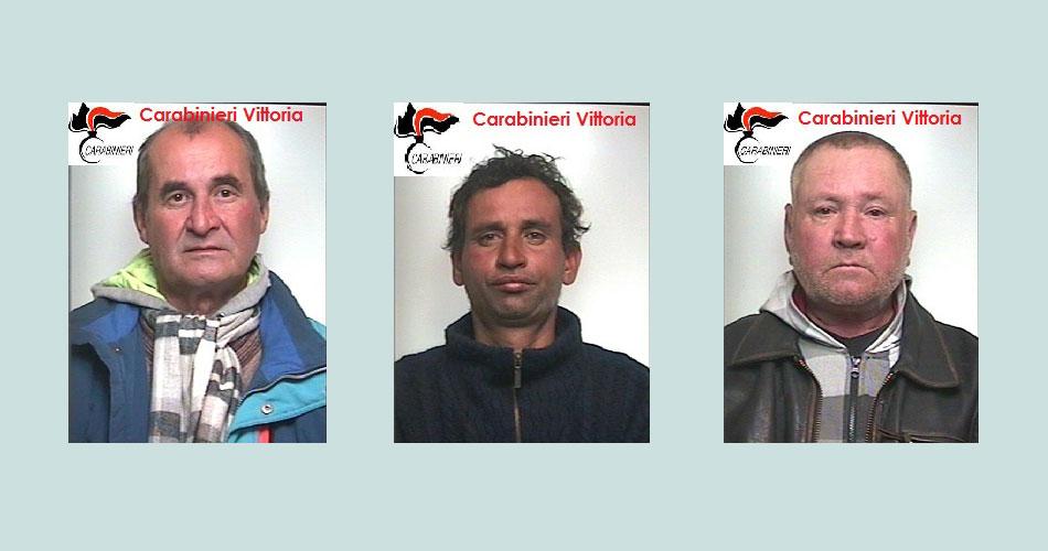 Vittoria. Arrestati 3 stranieri sorpresi con oltre 300 metri di cavi elettrici rubati