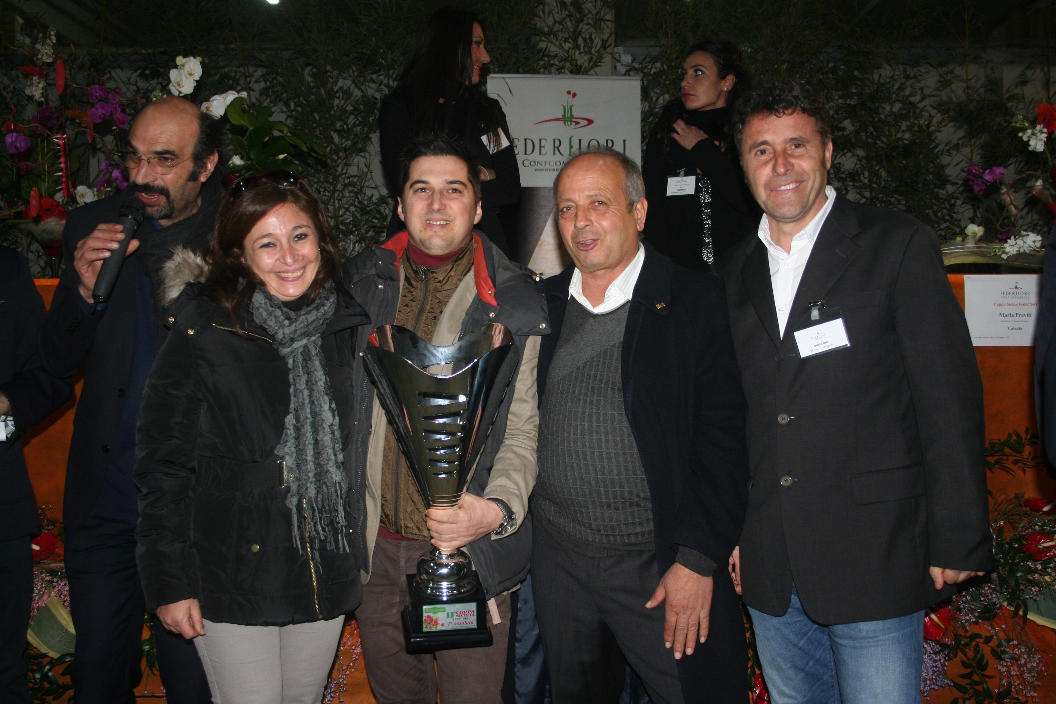 Grande successo per la Coppa Sicilia Federfiori tenutasi a Vittoria