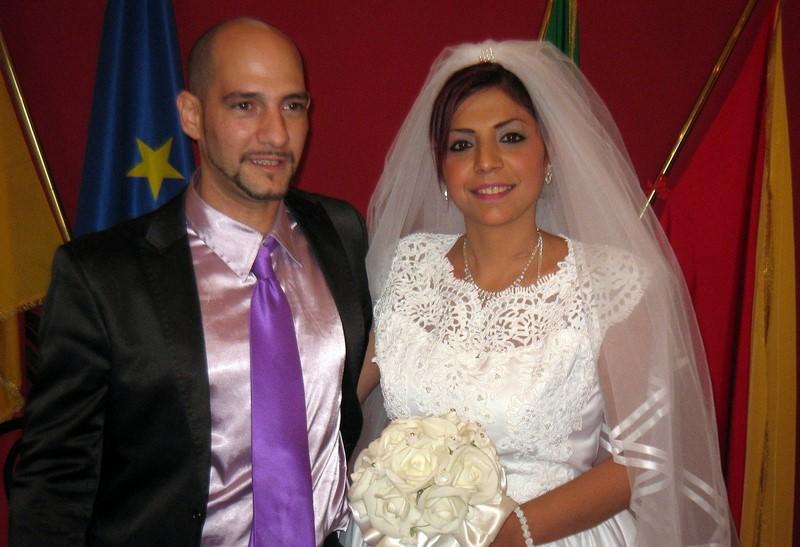 Lei Rom e figlia dell'Imam, lui cattolico. Sabato scorso sposi a Palermo