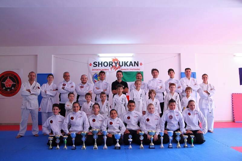 Trofeo dello stretto 2014, a Messina il 21 dicembre la scuola Shoryukan fa un pieno di podi