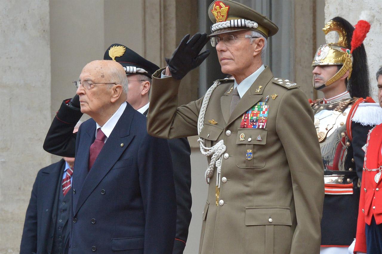 Il Presidente della Repubblica Giorgio Napolitano ha firmato le dimissioni