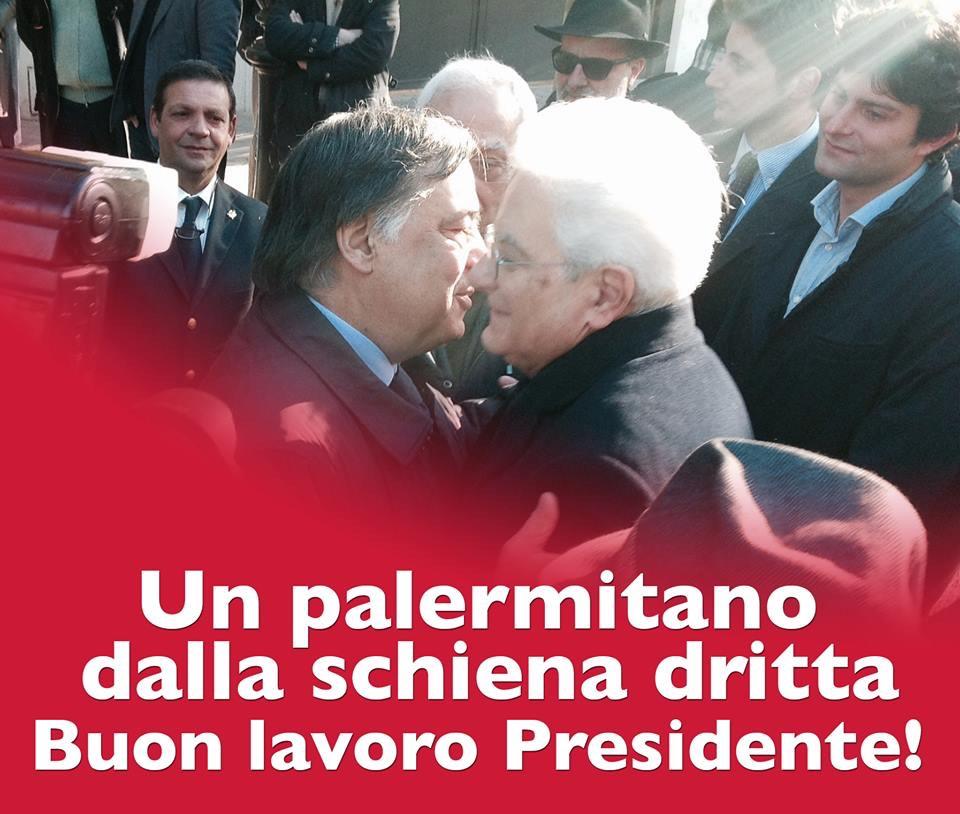 Lettera aperta di Leoluca Orlando al Presidente della Repubblica Sergio Mattarella