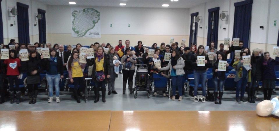 Primo corso gratuito di primo soccorso pediatrico, un grande successo al Fermi di Vittoria