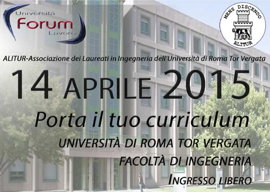 23° edizione del Forum Università-Lavoro: Il link tra il mondo dell'università e il mondo del lavoro