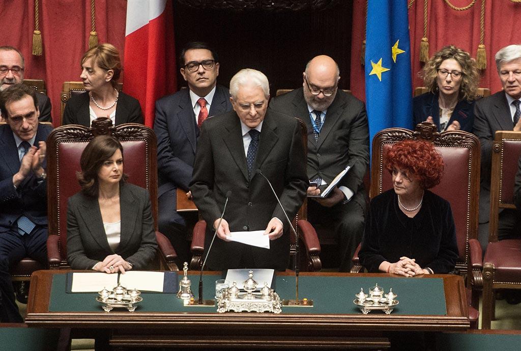 Giuramento Presidente Mattarella: Il discorso (con video)