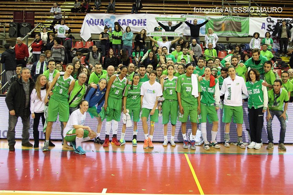 Finale Coppa Italia di basket: la Passalacqua Ragusa battuta dalla Famila Schio