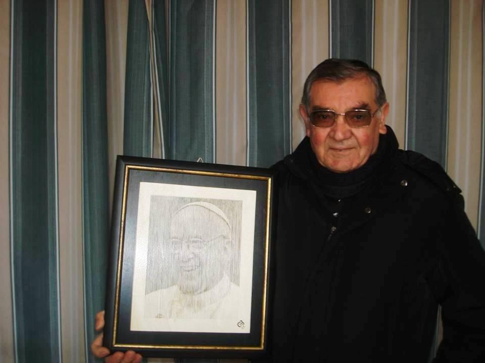 Acate. L'artista Giuseppe Biondo donerà una sua opera per la Cena in onore di San Giuseppe.