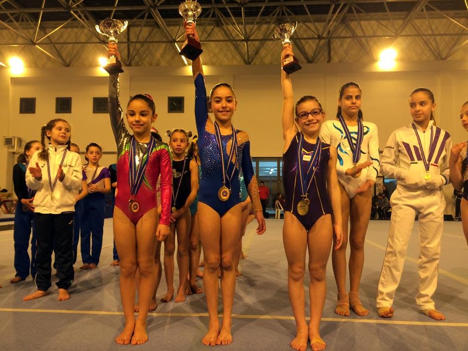 Ginnastica artistica. Medaglia di bronzo per la ginnasta modicana di 8 anni Chiara Iacono