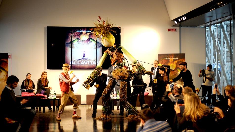 """Expo Milano 2015 presenta """"Allavita!"""", lo spettacolo esclusivo del Cirque Du Soleil"""
