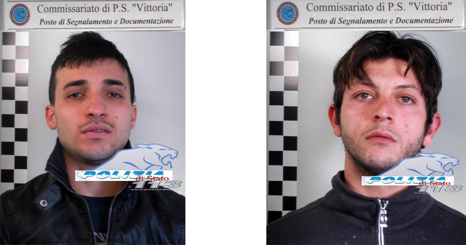 Vittoria, La polizia ha arrestato due pericolosi rapinatori seriali