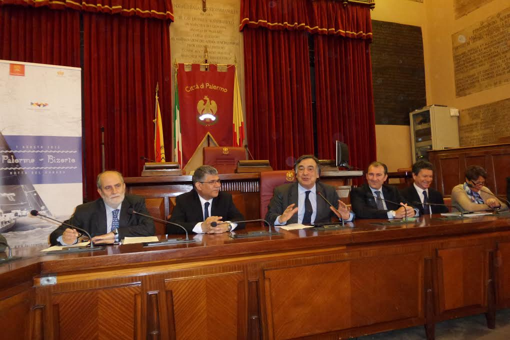 """Presentata regata internazionale """"Palermo-Bizerta"""". Orlando: """"Nuovo segnale di vicinanza e solidarietà"""""""